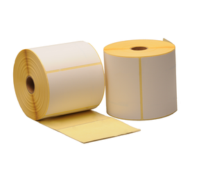 Zebra Z-Perform 1000D (800283-205) compatibles, Eco, 76mm x 51mm, 1370 etiquetas, 25mm Núcleo, blanco, permanente