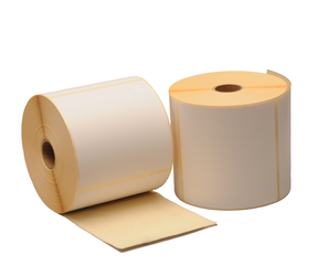 Zebra Z-Perform 1000D (880191-101D) compatibles, Eco, 102mm x 102mm, 700 etiquetas, 25mm núcleo, blanco, permanente