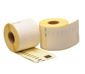 Seiko SLP-SRL compatible labels, 101mm x 54mm, 220 etiquetas, blanco, permanente